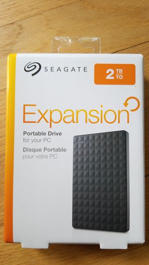 Brand new Seagate 2TB external hard drive for Sale in Farmington, CT