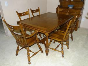 Whitney Dining Room Table and Chairs for Sale in Columbus, OH