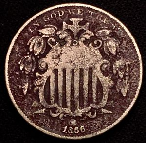 1868 Shield Nickel - VERY nice! for Sale in Batavia, IL