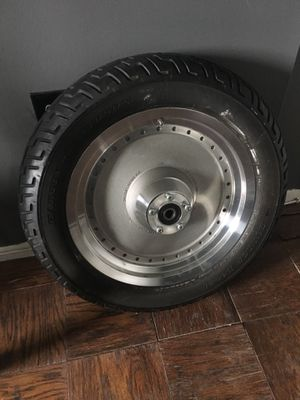 Harley Davidson Fat Boy front wheel & tire for Sale in Alexandria, VA