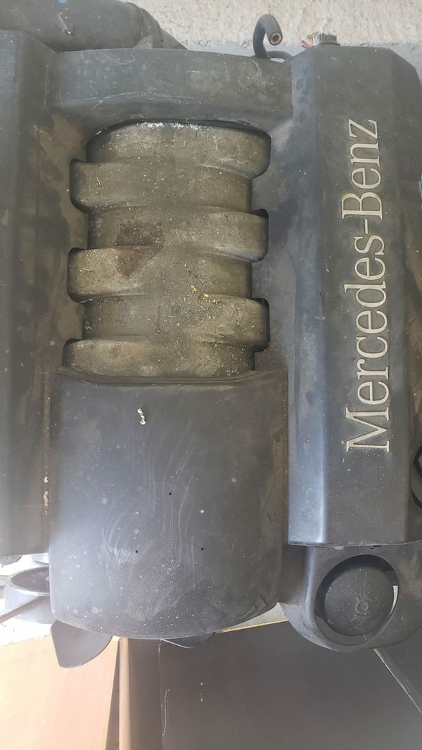 A Mercedes Benz ML 350 engine in good working condition