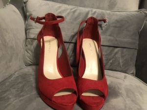 Red Marc Fisher High Heels 9.5 for Sale in Smyrna, TN