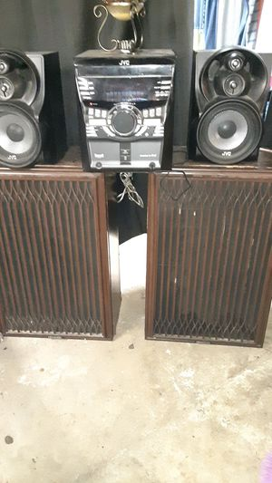 Oldschool Kenwood 15' subwoofers with covers for Sale in Owensville, MO