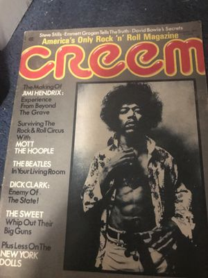VINTAGE. CREAM. MAGAZINE FROM 1973. . for Sale in Queens, NY