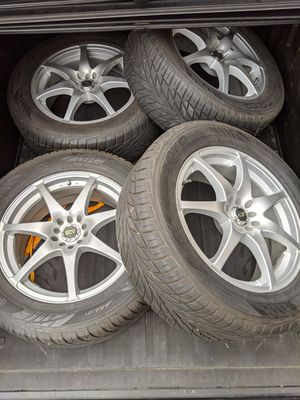 18X7.5 ADR GT SPORT RIMS AND TIRES for Sale in Bellevue, WA