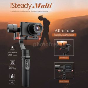 hohem isteady multi gimbal camera/iphone/dslr/gopro image stabilizer for Sale in Riverview, FL