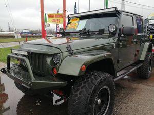 2008 Jeep Wrangler solo 48k mil ($4000 DP mínimo) for Sale in Houston, TX