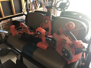 Black & Decker 18V Cordless Tool Set for Sale in Raleigh, NC