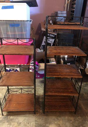 2 wicker shelves/ bookcases for Sale in Longwood, FL