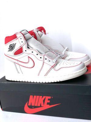 Air Jordan 1 Retro High OG Phantom Gym Red Shoe Size 10.5 for Sale in Portland, OR