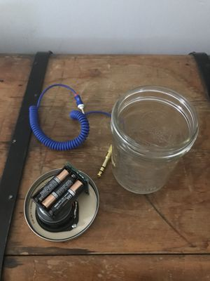 Mason jar speaker for Sale in Denver, CO