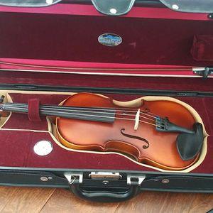 1/2 size Bunnel premier student violin outfit for Sale in Alpharetta, GA