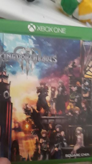 Kingdom hearts 3 for Sale in East Providence, RI