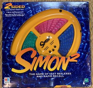 Vintage Simon 2 Electronic Game 2-Sided for Sale in Hickory Hills, IL