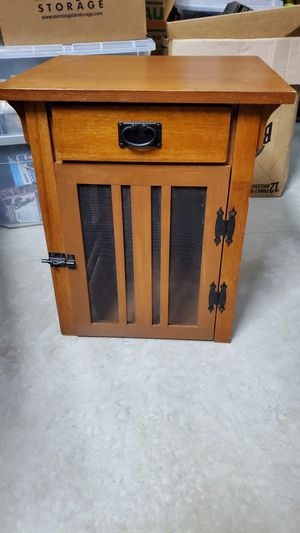 Custom Solid Wood Dog Crate for Sale in Katy, TX