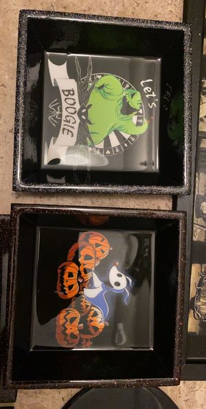 Nightmare before Christmas resin tray for Sale in Ontario, CA
