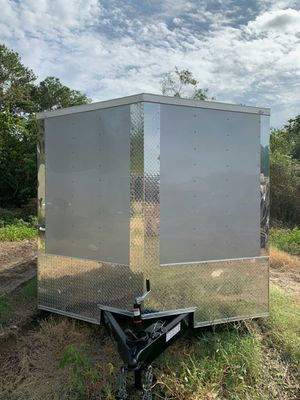 New Quality Cargo enclosed trailer 8.5 x 16 with extra height for Sale in Enfield, CT