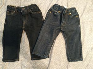 $16 for both Baby Boy Levi's size 12 months for Sale in El Monte, CA