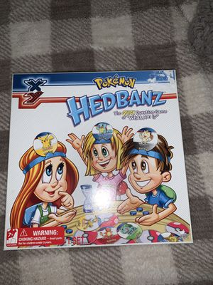 Pokémon Hedbanz Game for Sale in Selma, CA