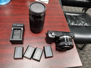 Sony A5000 Camera Bundle for Sale in Greensboro, NC