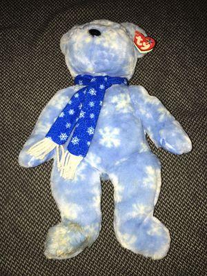 TY Beanie baby snowflake bear stuffed animal for Sale in Allen Park, MI