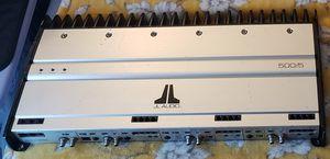 JL Audio amplifier 500/5 for Sale in Citrus Heights, CA
