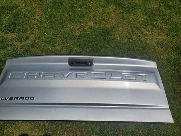 Brand new Chevy Silverado 2019 tailgate