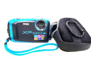 Fujifilm FinePix XP120 Shock & Waterproof Wi-Fi Digital Camera, Case, Manual for Sale in Houston, TX