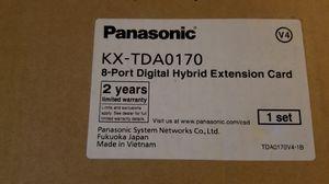 Panasonic KX-TDA0170 8 port digital hybrid extension card for Sale in New York, NY