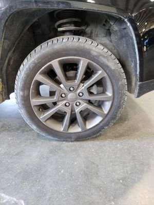 Set of 4 wheels and tires off 2016 Jeep Compass 75th Anniversary Edition for Sale in Rockvale, TN