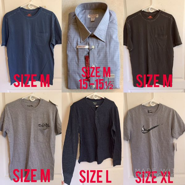 Men's Shirts Bundle of 11 NWT New With Tags