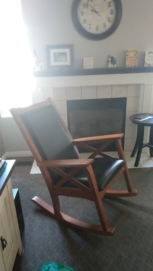 Wood rocking chair for Sale in Salt Lake City, UT