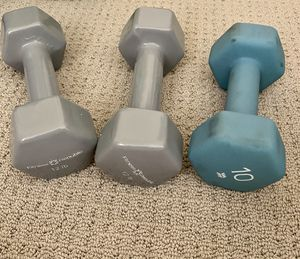 Set of 12 pound weights for Sale in Los Angeles, CA