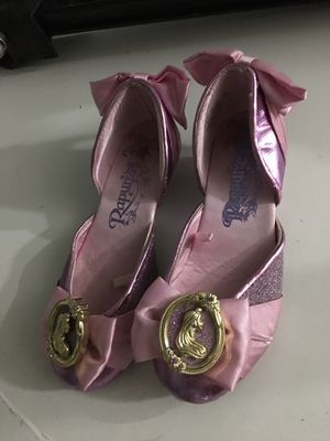 Rapunzel Disney girls shoes size 13/1 for Sale in San Diego, CA