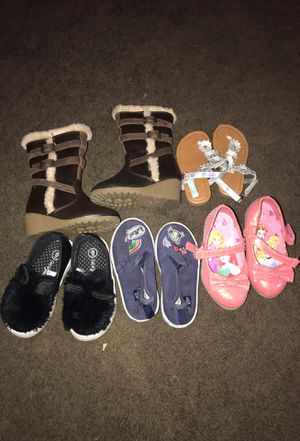Girls shoes , boots , sandals ,Disney princess heels for Sale in Victorville, CA