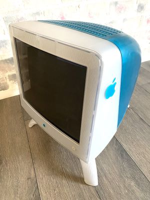 "Vintage 1998 Apple Imac Blueberry 17"" Display Monitor/ Computer for Sale in Las Vegas, NV"