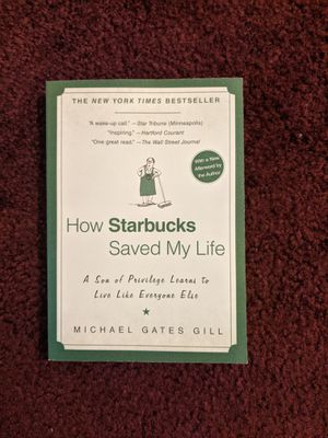 Paperback book - How Starbucks saved my life for Sale in Concord, CA