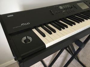 Korg M50 88 keys keyboard piano for Sale in Atlanta, GA