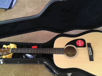 Fender Acoustic Guitar ( New ) for Sale in Wenatchee,  WA