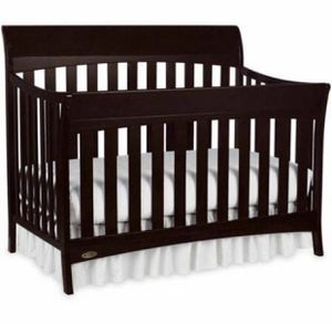 Brown crib, changing table with drawers, and extra mattress for Sale in Daly City, CA