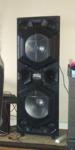 H&A speaker with extra bass for Sale in Portland, OR