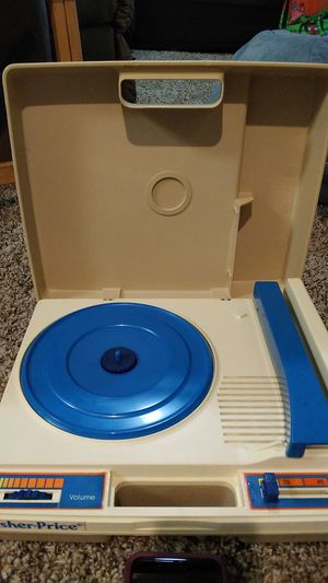 Original 1978 Fisher Price record player + records for Sale in Nederland, TX