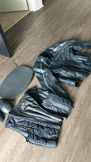 Alpinestars Leather Motorcycle Jacket (Large) for Sale in Charlottesville, VA