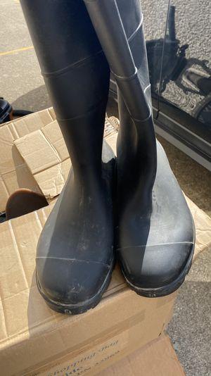 Men's rain boots for Sale in Addison, TX