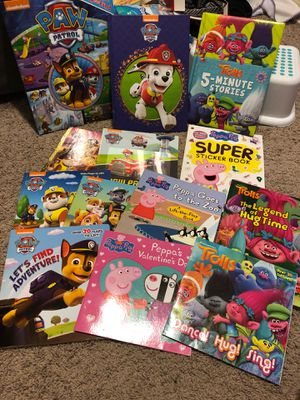Children's books- Peppa, Paw Patrol, & Trolls for Sale in Santee, CA
