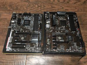 MSI z370 & z170 Motherboards for Sale in Phoenix, AZ