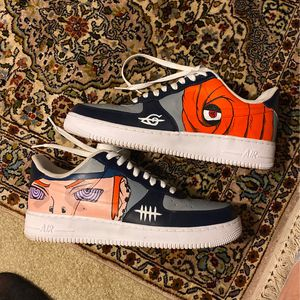 Costum Naruto Air Force Ones for Sale in Wichita, KS