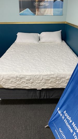 Memory Foam Mattress Medium Firm Comfortable with 2''''Cooling Gel H9 for Sale in Irving, TX