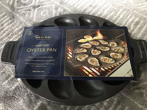 Cast Iron Oyster Pan by Sur La Table for Sale in Marshall, NC