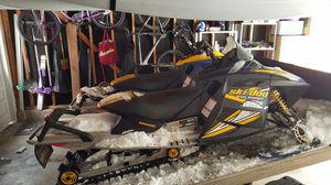 (2)-05 ski doo summit 800 ho w/tilt trailer for Sale in Evergreen, CO